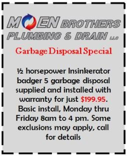 garbage disposal coupon
