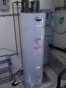 This is a quality installed Water Heater in Estero, FL, No flex lines were used, electric is hardwired and it is equipped with a pan.